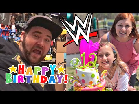 Family Vlogs Are Back! Molly's 12th Birthday Party