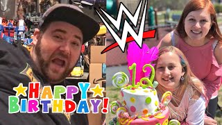 FAMILY VLOGS ARE BACK! MOLLY'S 12th BIRTHDAY PARTY CRAZINESS!