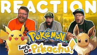 Pokémon: Let's Go, Pikachu and Eevee! Trailer REACTION!!