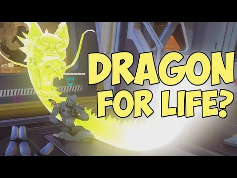 Genji could have Dragonblade FOR LIFE... | Funny Overwatch Series #11