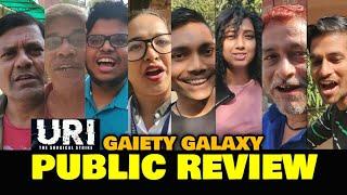 Uri: The Surgical Strike PUBLIC REVIEW At Gaiety Galaxy   Vicky Kaushal, Yami Gautam, Mohit Raina