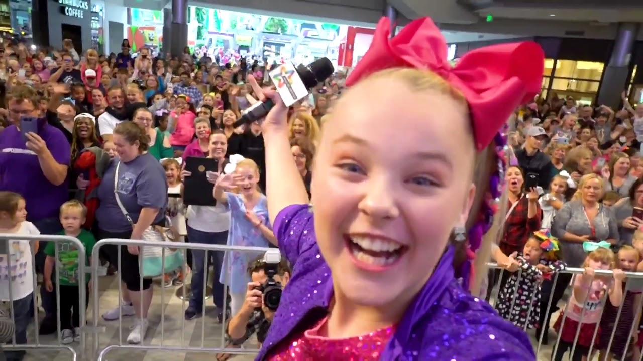 Mall Of America Jojo Siwa 10000 People Came To See Her Youtube