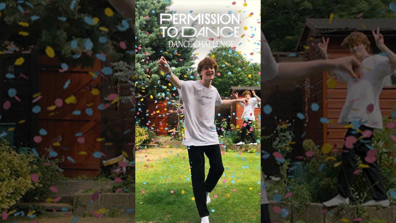 BTS Permission to Dance Challenge! 🕺💜 MrSammyCam #PermissiontoDance #Shorts