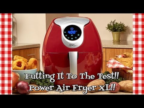power-air-fryer-xl~putting-it-to-the-test~air-fryer-demo-&-review~burgers-&-fries~noreen's-kitchen