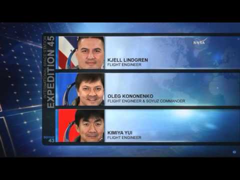 Expedition 45 crew reentry and landing in Kazakhstan