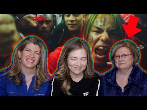 GRANDMA & MOM REACT TO 6ix9ine
