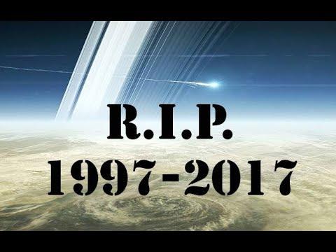 Cassini Final Farewell Crash