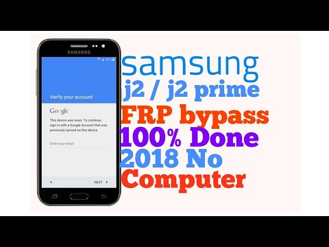 How To Add Google Account In Samsung J2 J2 SMJ200 Bypass