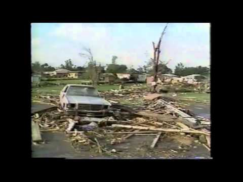 """""""It Sounded Like a Freight Train"""" WGN Weather - 1991"""