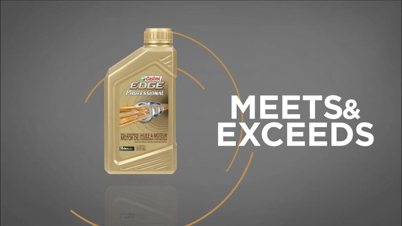 hight resolution of castrol edge professional vs the competition