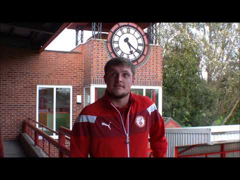 Alex Marshall: Post Match Interview v Chelmsley Town