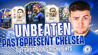 I went UNBEATEN on FUT CHAMPS w/ A CHELSEA PAST & PRESENT TEAM!! 🔵🦁