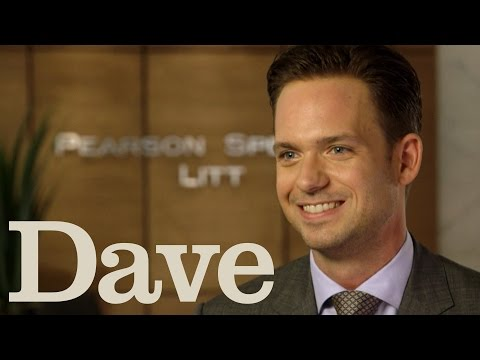 Patrick Adams Rapid Fire Questions | Suits Season 5 | Dave