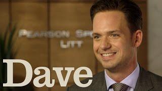 Patrick Adams Rapid Fire Questions | Suits Season 5 | Dave