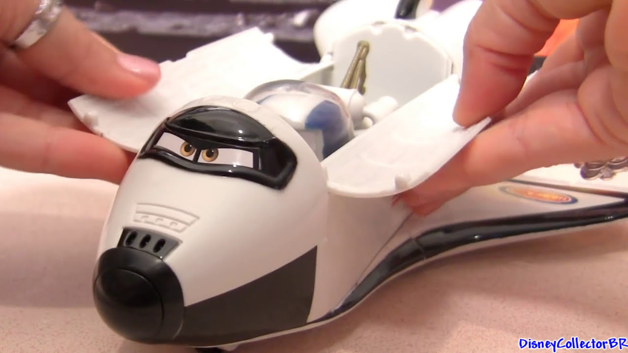 Cars Toons Talking Roger the Space Shuttle with Autonaut ...