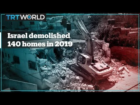 Israel Destroyed Record Number Of Palestinian Homes In 2019 – Report