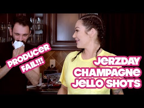 JWOWW Jersey Shore Q&A with Champagne Jello Shots