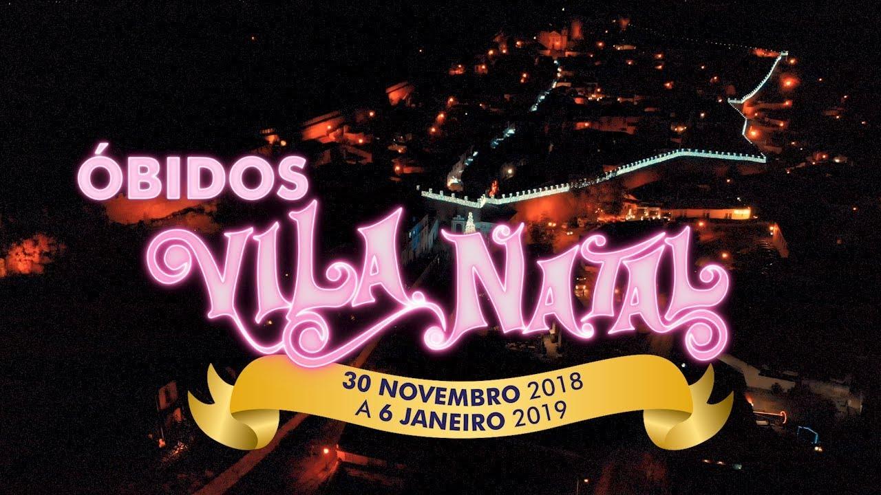 Resultado de imagem para óbidos vila natal 2018
