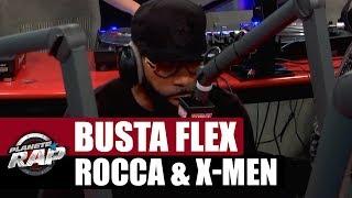 Busta Flex, Rocca & X-Men en freestyle [Part. 1] #Plane?teRap