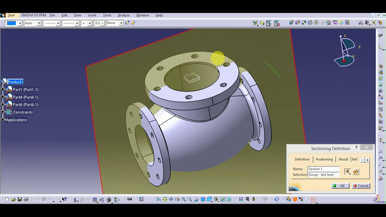 ASSEMBLY OF STOP VALVE IN CATIA V5 _PART 01 - YouTube