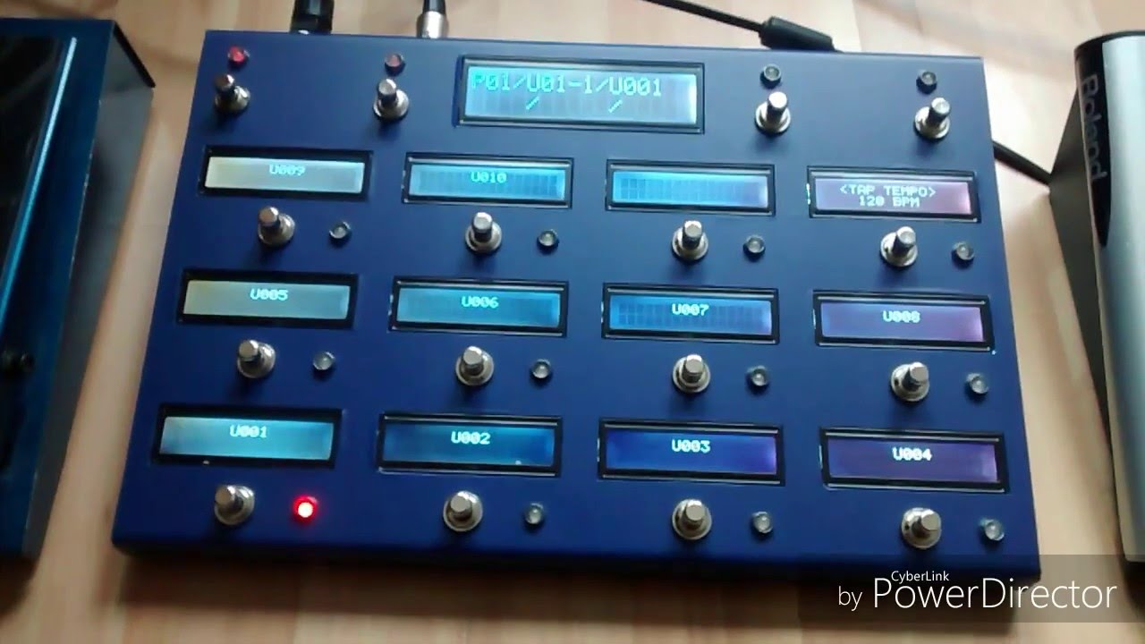 Vcontroller V2 Diy Midi Foot Controller For The Boss Roland Gp 10