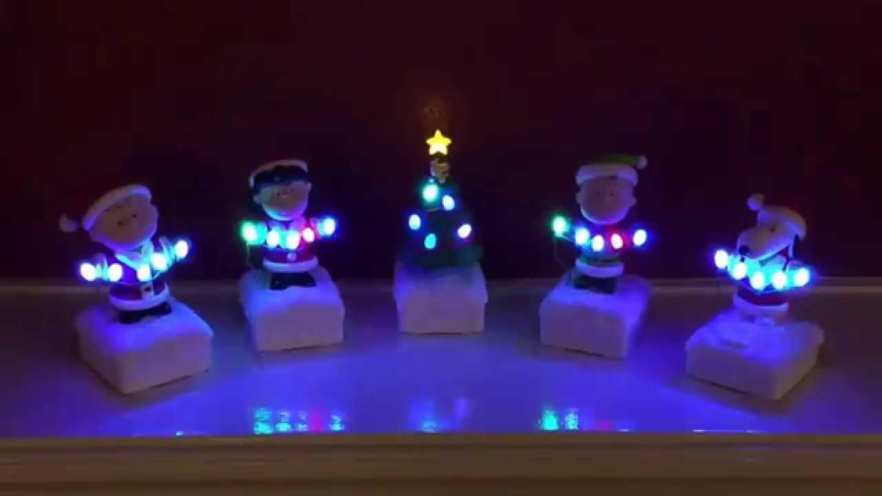 Hallmark Charlie Brown Christmas Figures - YouTube
