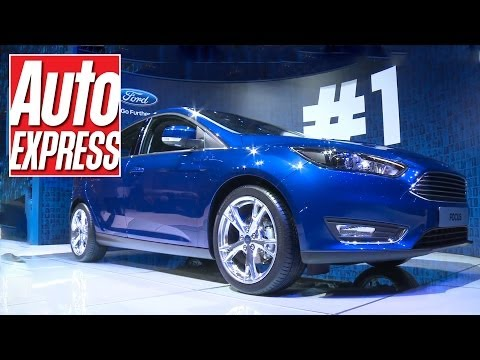 New Ford Focus at the Geneva Motor Show 2014