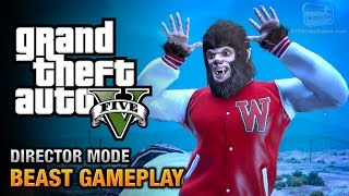 GTA 5 - Play as the Beast [Director Mode Gameplay]