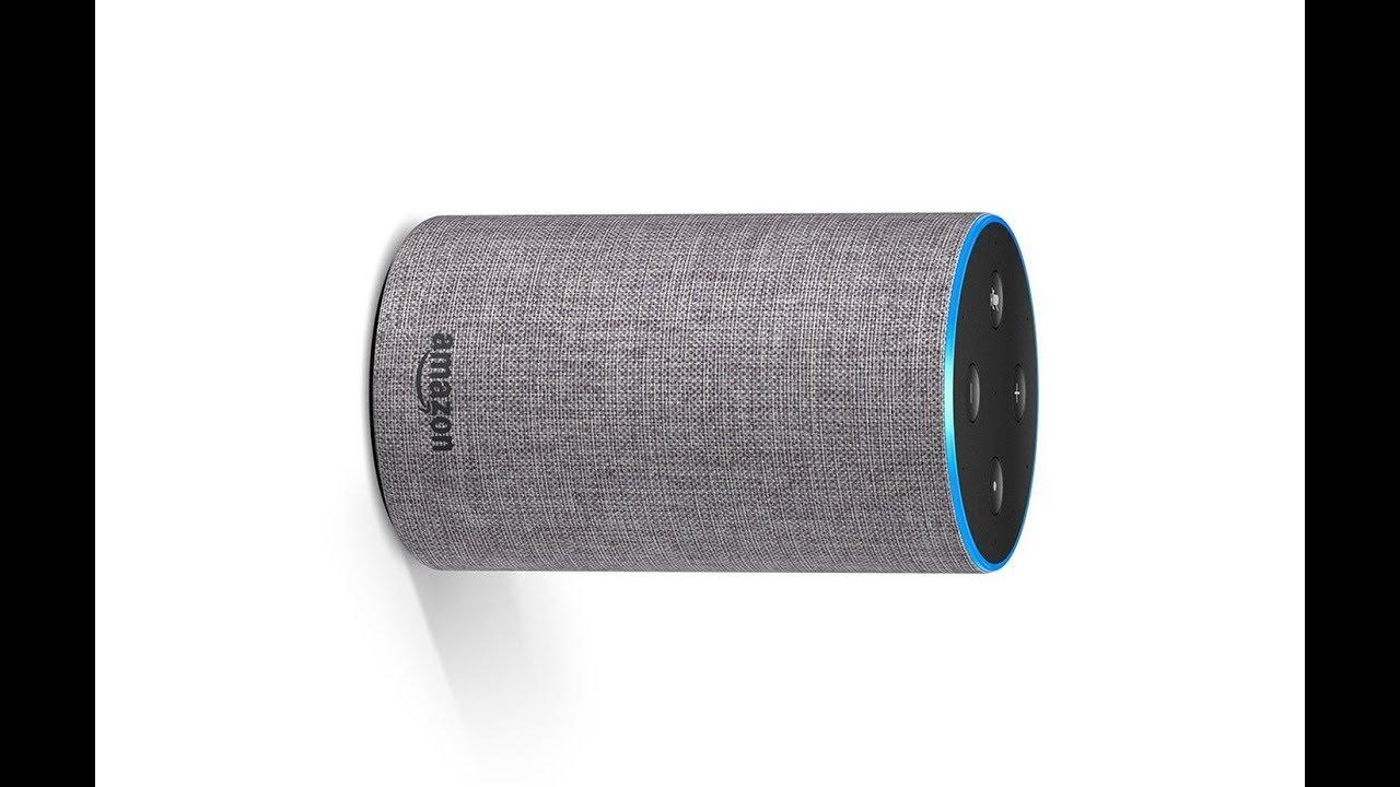Amazon Echo 2nd Generation Smart Speaker With Alexa Heather Gray Fabric Test Youtube