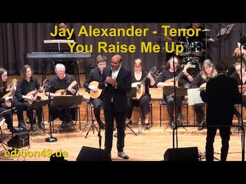 You Raise Me Up Jay Alexander Tenor Mandolin Orchestra Ettlingen Boris Bagger