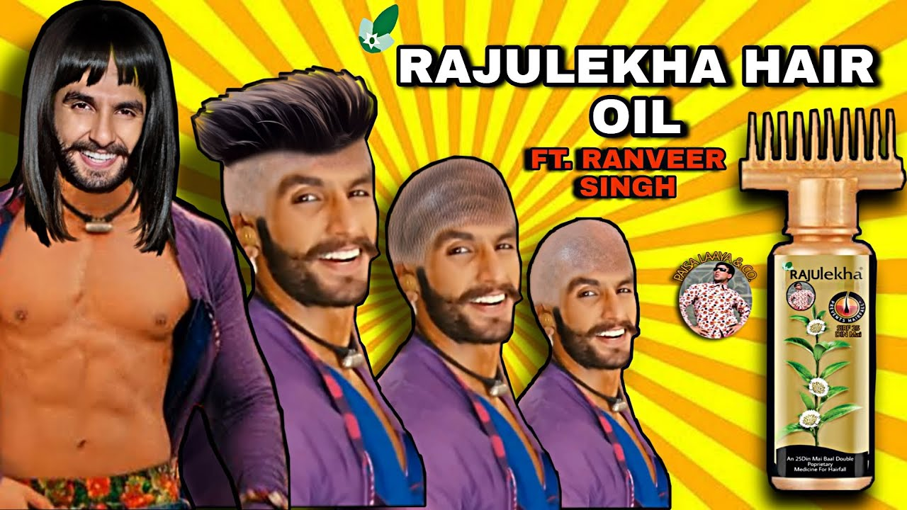 RAJULEKHA Hair Oil😂 Ft. Ranveer Singh   Akshay Kumar   Indian Memes