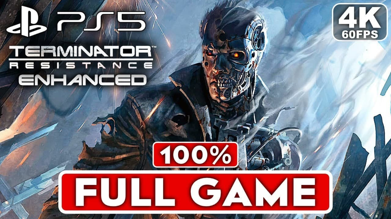 TERMINATOR RESISTANCE ENHANCED PS5 Gameplay Walkthrough Part 1 FULL GAME [4K 60FPS] – No Commentary