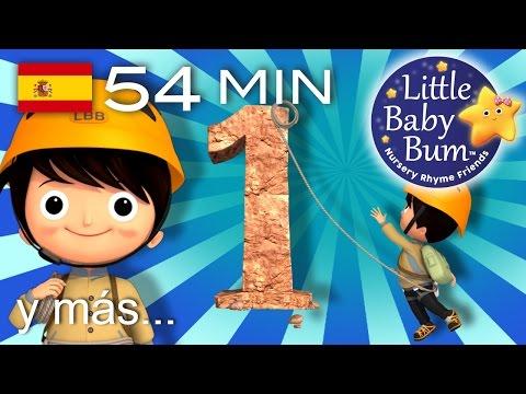 El número 1 | Y muchas más canciones infantiles | ¡54 minutos de recopilación LittleBabyBum!