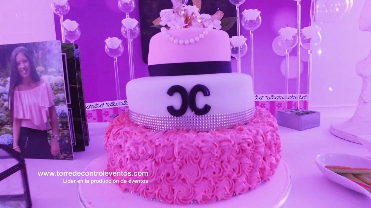 Fiesta Tematica Chanel - YouTube