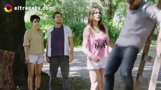 Agustín pidió una soga y Josefina, pensando lo peor, buscó la ayuda de Elena