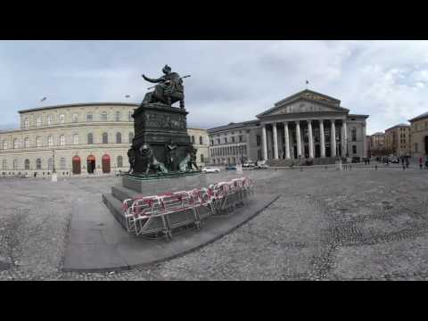 360 VR Tour | Munich | Bavarian State Opera National Theater | No comments tour