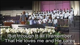 """More Than I Can Bear"" FBCG Young Adult Choir"