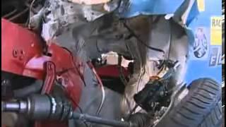 Audi Q7 - Fiat 500 crash test
