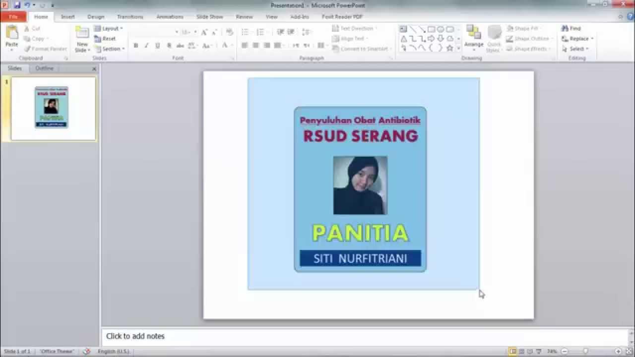 Contoh Id Card Word - Contoh Sewa