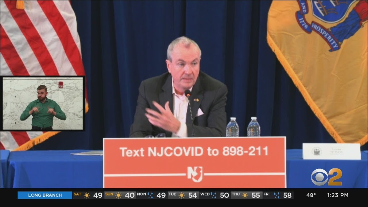 Governor Murphy Orders NJ Residents to Stay at Home, Closes All ...
