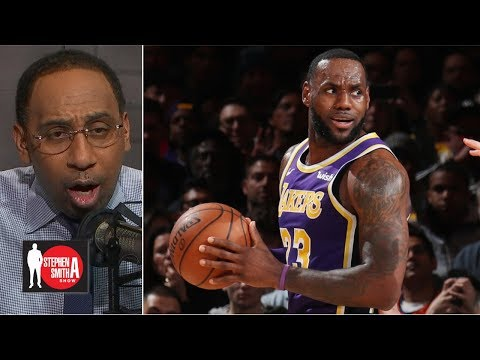 Why was LeBron taking so many 4th-quarter shots in loss to Knicks? | The Stephen A. Smith Show