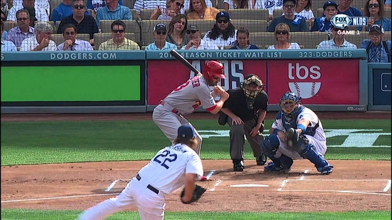 A J Ellis Terrible Pitch Framing - YouTube