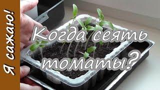 видео Когда сеять рассаду