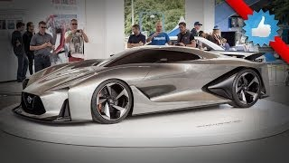Nissan Concept 2020 Vision Gran Turismo live at 2014 Goodwood FOS