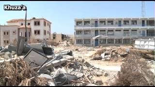 solo macerie a Gaza
