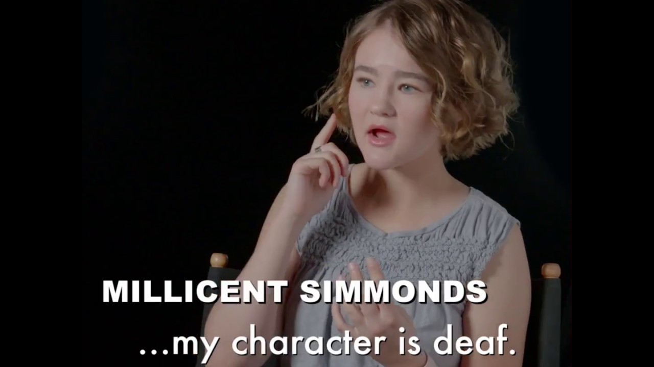 Image result for Millicent Simmonds