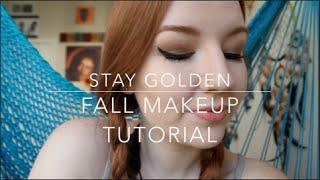 Stay Golden | A Fall Makeup Tutorial Thumbnail
