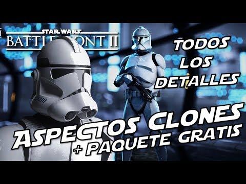 Star Wars Battlefront 2 Todo sobre los Aspectos de Clones, Oficiales Armados, y Paquete Gratis thumbnail