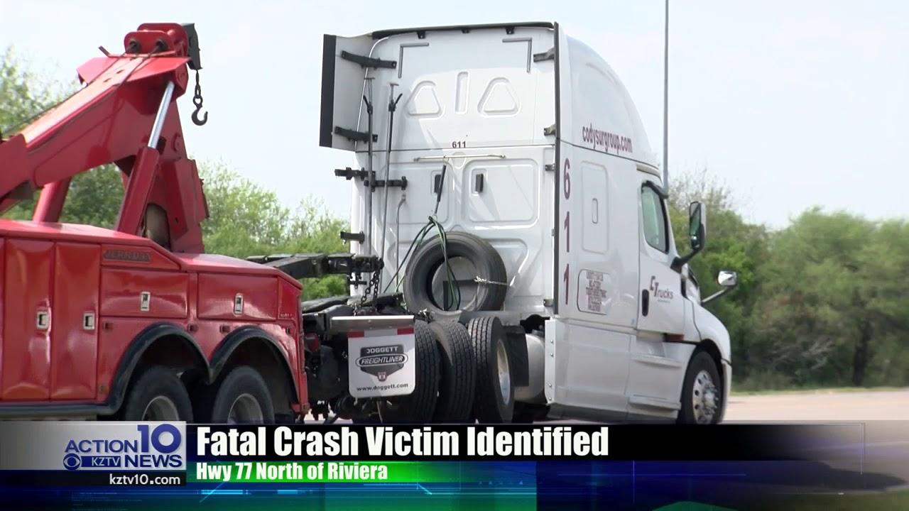 Fatal crash victim near Riviera identified