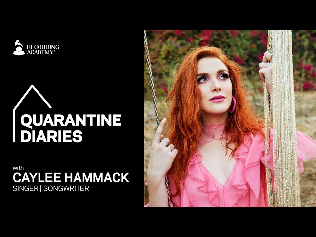 Caylee Hammack Shows Us A Day In Her Life | Quarantine Diaries
